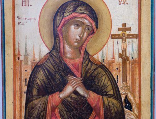Le Sacre Icone ai tempi del Coronavirus
